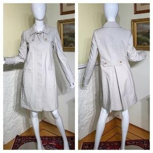 Brooks Brothers Canvas Trench Coat